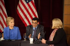 Hillary Clinton Hosts Homeland Security Roundtable with Mayor Garcetti. Los Angeles, CA. March 2016.